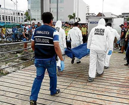 Pescadores encontraron cadáver de joven