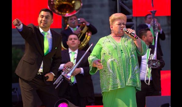 Paquita la del Barrio celebra 45 años de carrera con concierto en Los Ángeles