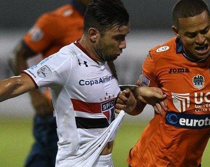 Sao Paulo se inscribe en grupo de River Plate, The Strongest y Trujillanos tras vencer a César Vallejo