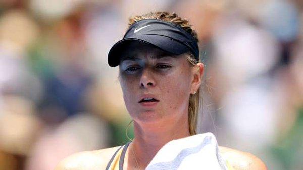 Maria Sharapova anuncia que no participará en el abierto de Doha por lesión