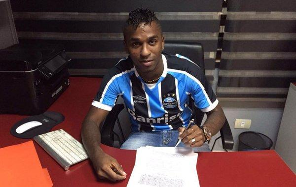 Miller Bolaños ya entrena con el Gremio de Porto Alegre