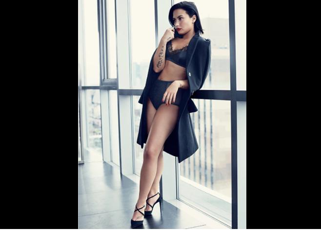 Demi Lovato aprendió a amar su cuerpo gracias a Kim Kardashian
