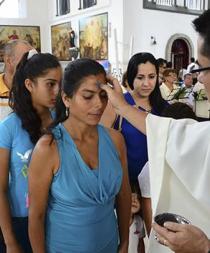 Católicos iniciaron con las cenizas preparación para la Semana Santa