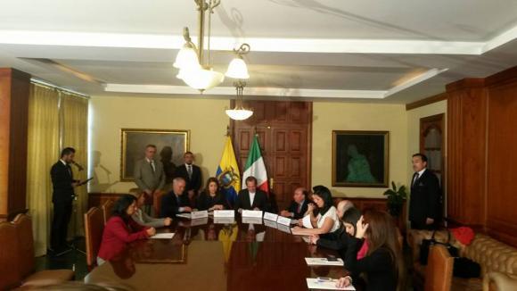 Familias ecuatorianas en Italia recuperan la custodia de 37 menores