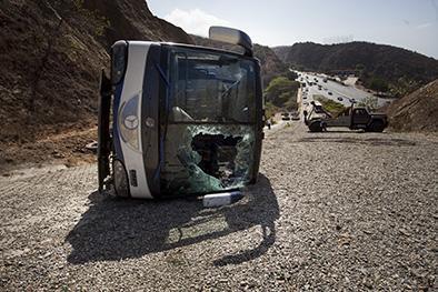 Toranzo, el más afectado en un accidente que casi fue tragedia