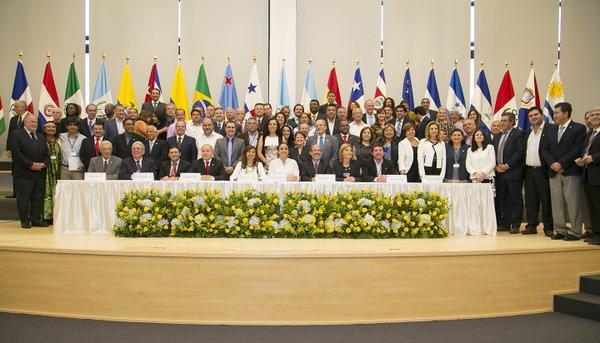 Gabriela Rivadeneira asume la presidencia del Parlamento Latinoamericano