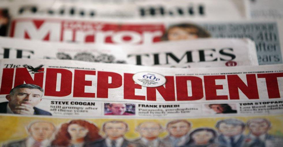 El diario 'The Independent' dejará de imprimirse en papel
