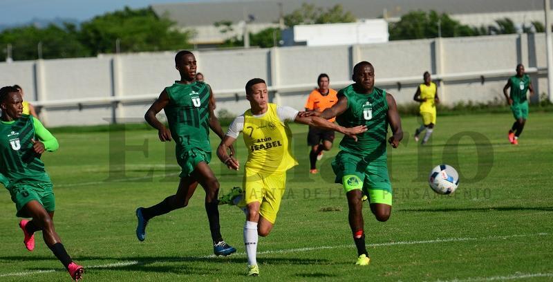 Partido amistoso. Manta FC ganó 2-1 a LDUP
