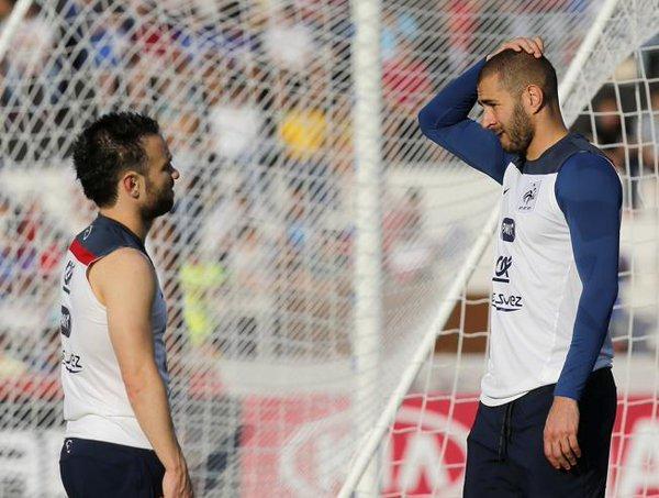 Benzema asegura que no vio el vídeo íntimo de Valbuena