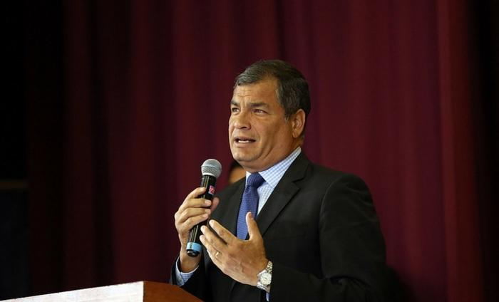 Correa ve intenciones de sublevación con sectores militares
