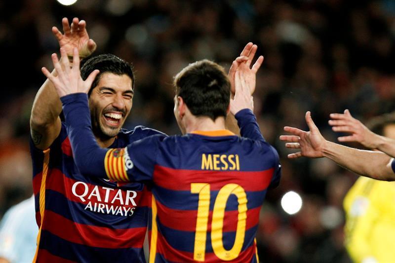 Insólito: La asistencia de Messi a Suárez en el cobro de un penal