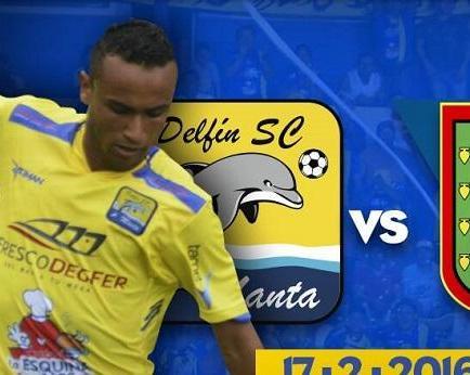 Entradas para el partido Delfín vs. D. Cuenca ya están a la venta