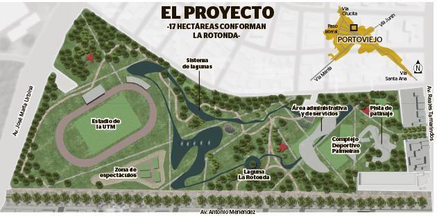 El parque de La Rotonda está en marcha (VIDEO)