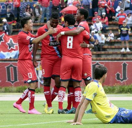 Delfín cayó 2-0 ante El Nacional en Quito (VIDEO)