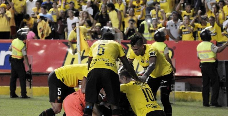 SerieA. Barcelona venció a F. Amarilla, Delfín cayó con El Nacional, y Mushuc Runa ganó a U. Católica
