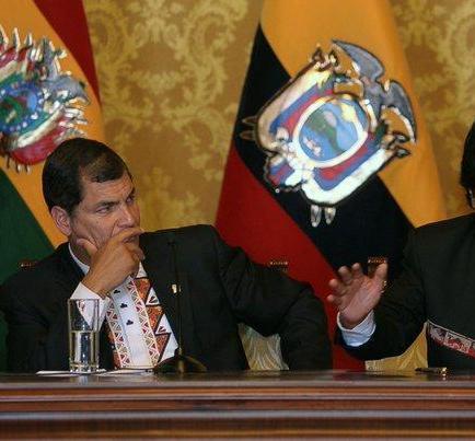 Correa cree que si Evo Morales fuera otra vez candidato ganaría de nuevo