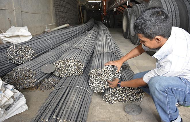 Hay cambios en los precios de varillas de hierro de for Construccion de piletas precios