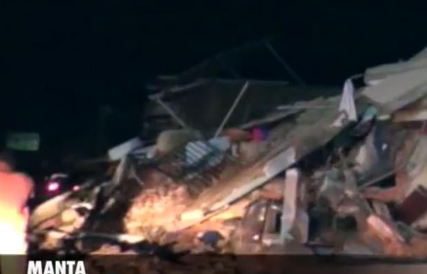 MANTA 17 DE ABRIL de 2016 - Terremoto