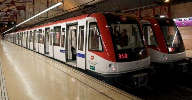 Denuncian a una pareja que tuvo sexo en el metro de Barcelona