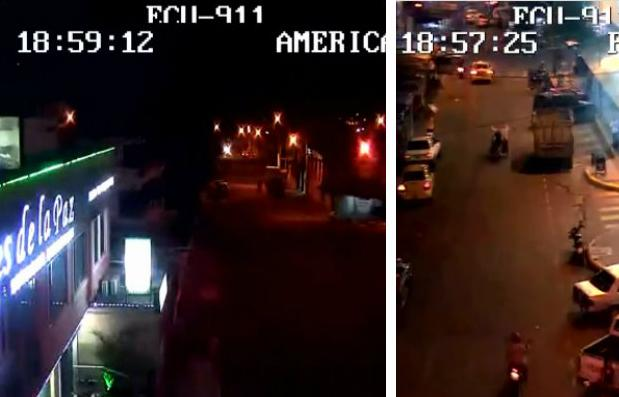 El ECU-911 muestra imágenes del momento del terremoto en Portoviejo