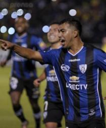 I. del Valle sorprendió al River Plate de Argentina y venció 2-0