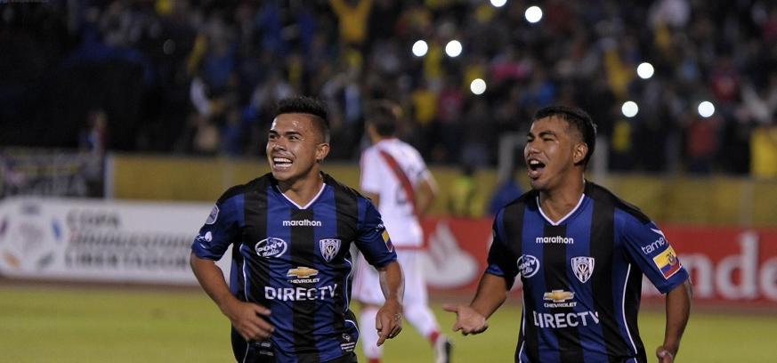 Independiente del Valle sorprendió al River Plate de Argentina y venció 2-0