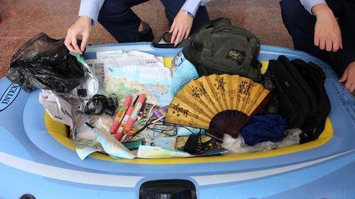 Desempleado chino llega a isla taiwanesa en un bote de goma para ser 'libre'