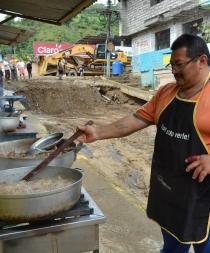 Sin miedo a nada: Habitantes se niegan a dejar Alluriquín