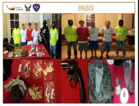 Detienen a tres hombres por presuntamente vender droga en albergues