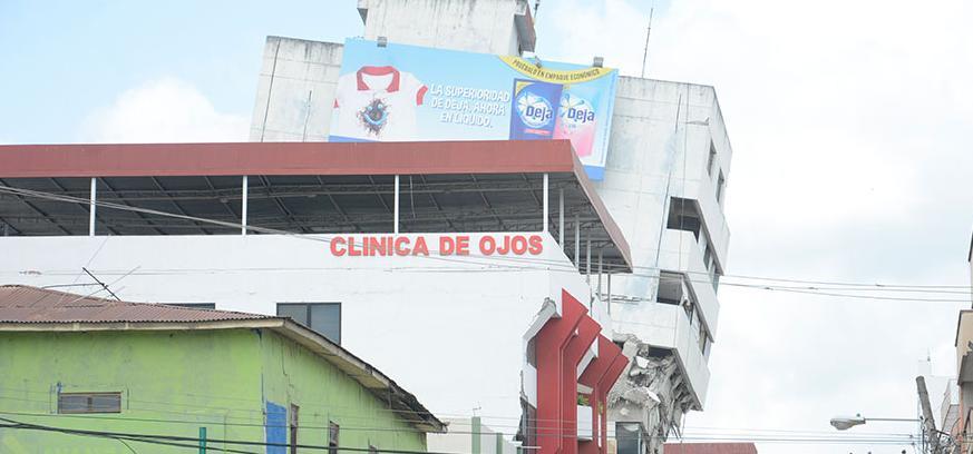 Los daños que dejó el terremoto en Portoviejo