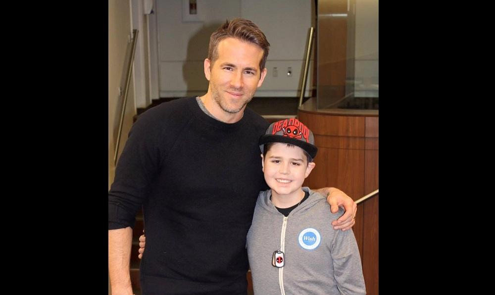 Ryan Reynolds y su emotiva carta de despedida para un niño fallecido por cáncer