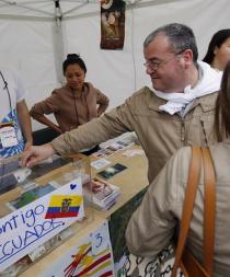 Barcelona se vuelca para ayudar a Ecuador tras el terremoto del 16 de abril