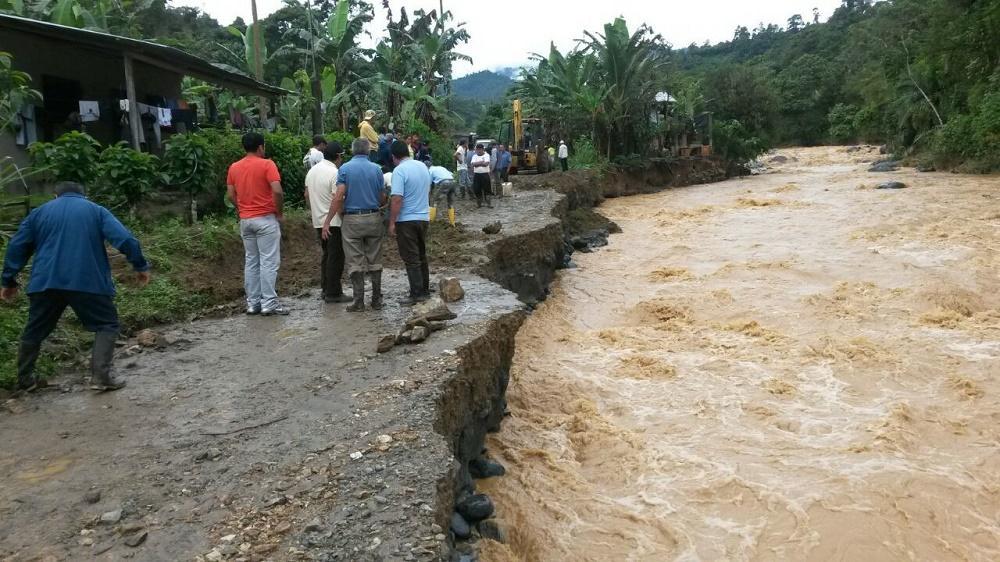 Las lluvias no dan tregua en Santo Domingo