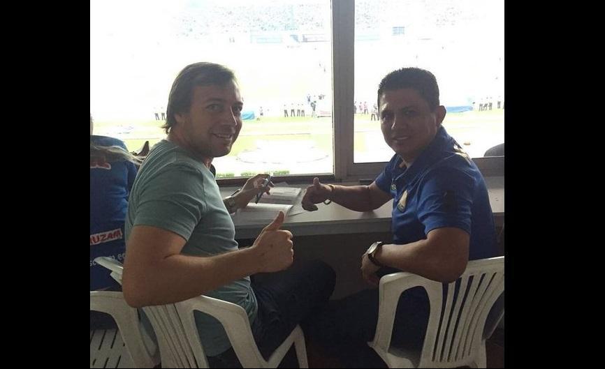 Diego Alarcón es el nuevo DT de Delfín SC, tras salida de Bustos