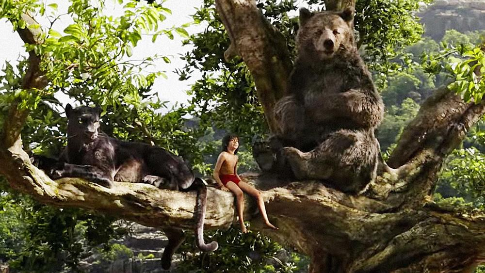 'The Jungle Book' reina en los cines de EE.UU. por tercera semana seguida