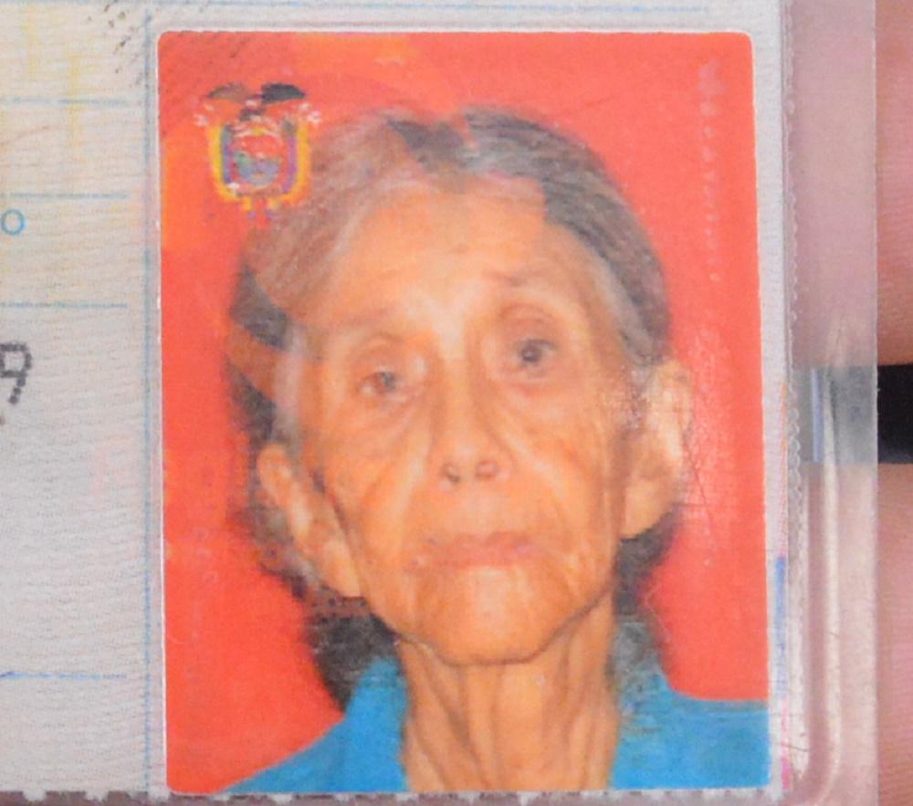 Anciana de 97 años esta desaparecida