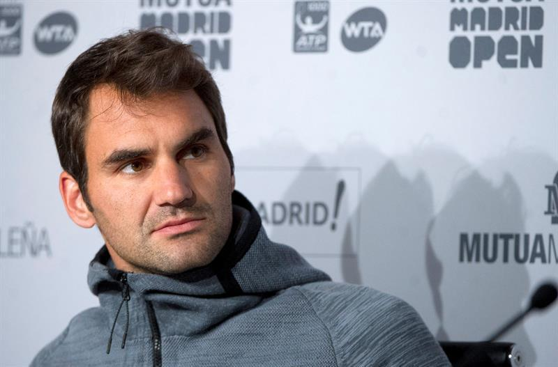 Roger Federer se da de baja en el Masters 1.000 de Madrid y apunta a Roma