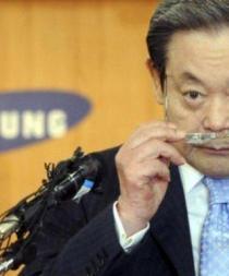 Presidente de Samsung sigue hospitalizado y estable tras dos años de su infarto