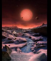 Descubren tres planetas 'potencialmente habitables' y similares a la Tierra