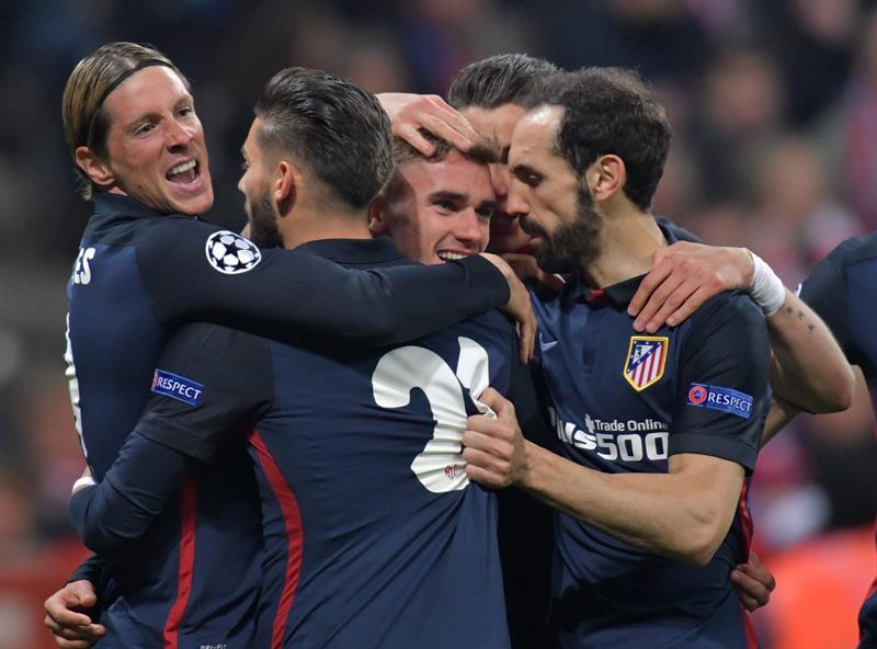Atlético de Madrid clasifica a la final de la Champions League