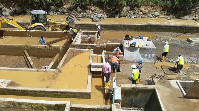 Dotación de agua empieza a normalizar en Santo Domingo