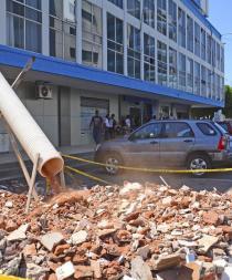 Edificios de instituciones públicas tienen pólizas y serán reconstruidos