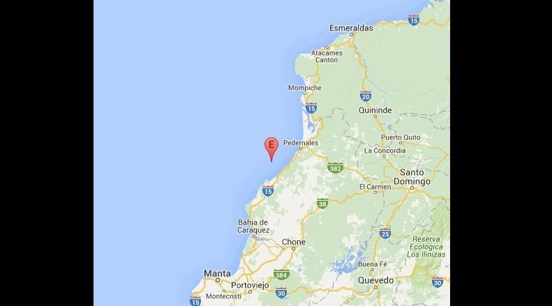 17 réplicas del terremoto se registraron en la costa ecuatoriana en las últimas 14 horas