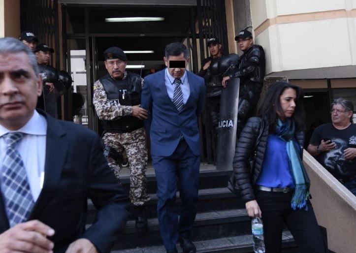 Vinicio L. es sentenciado a 12 meses de prisión por el caso Ecuafútbol