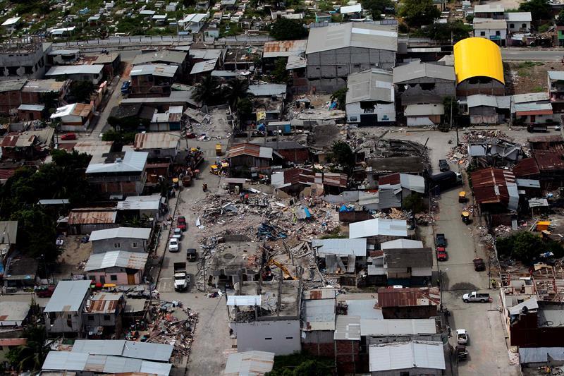 Se han registrado cerca de 1.200 réplicas del terremoto del 16 de abril