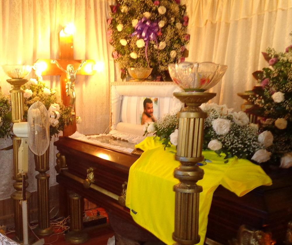 Manabita asesinado en Venezuela fue sepultado esta tarde