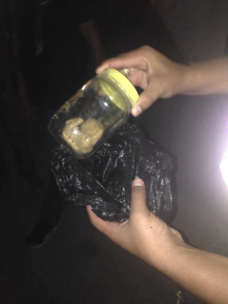 Policía encontró un feto en Altamira