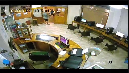 Video muestra la intensidad del terremoto en Canoa