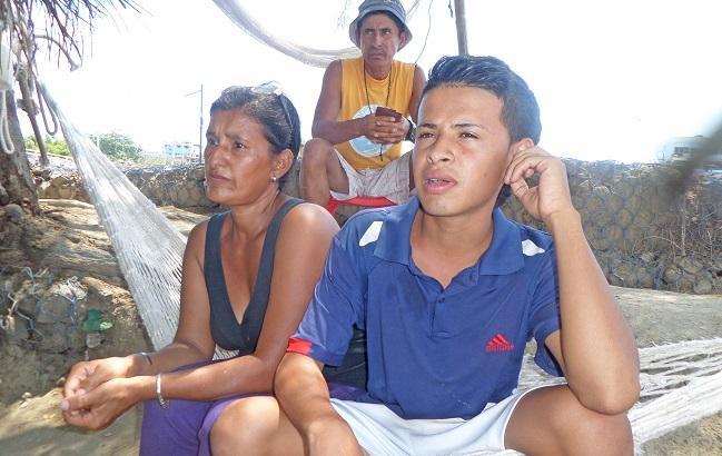 Erick rescató a cinco personas durante el terremoto del 16A