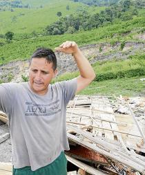 """""""La falla de San Isidro"""" hunde 116 hectáreas de tierra"""